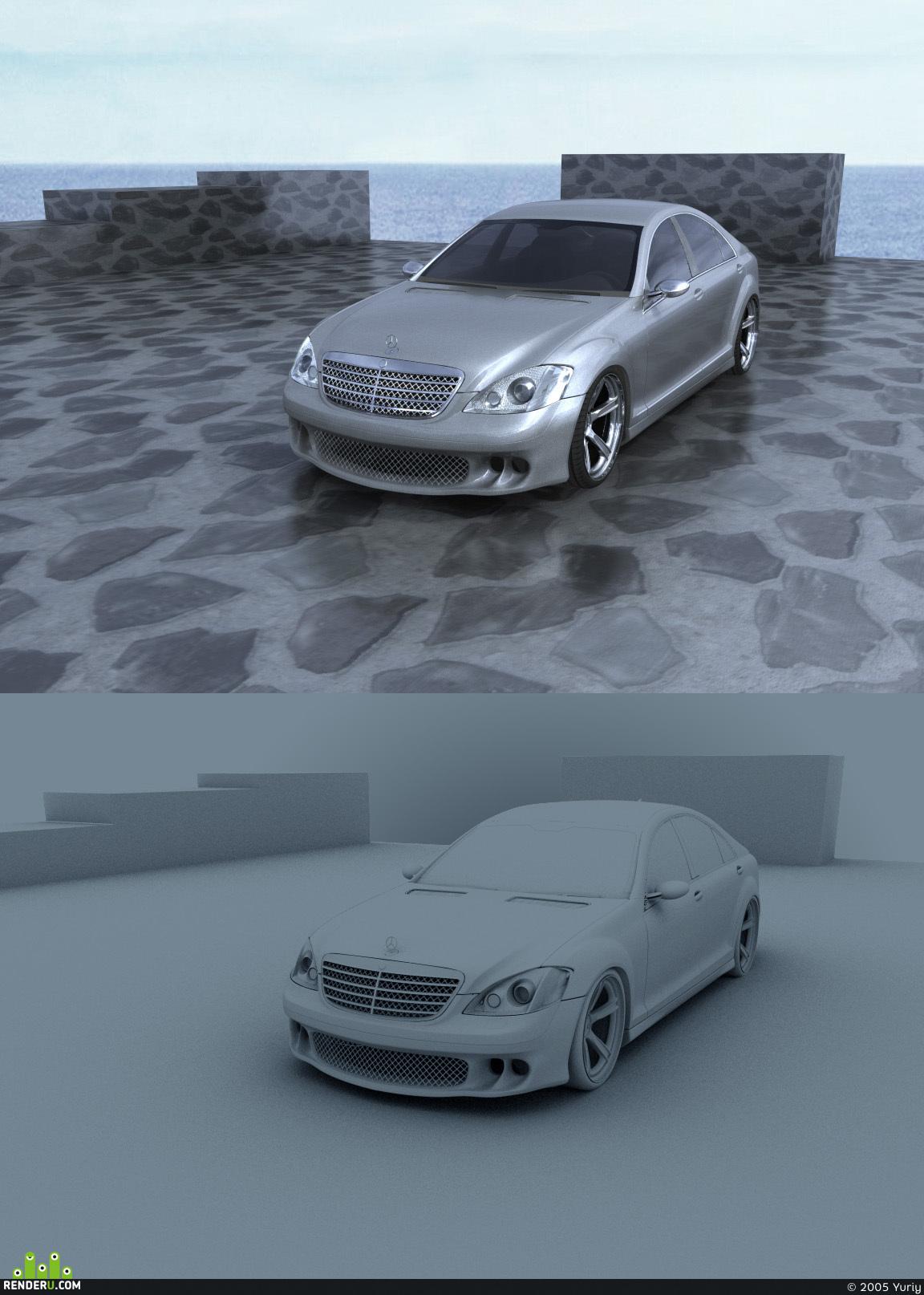 preview Mercedes-Benz S500 (2007)
