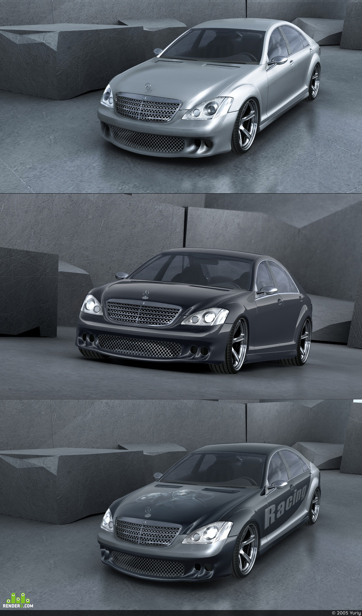 preview S500 (w221) tuned