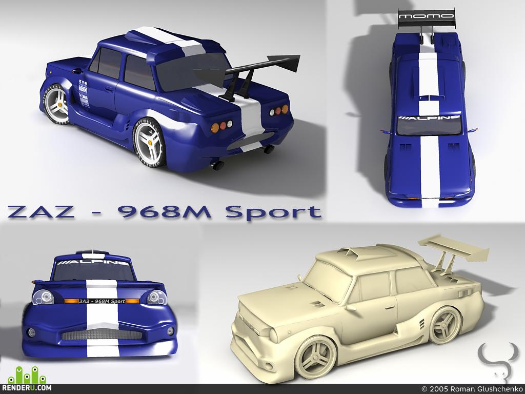 preview ZAZ - 968M DTM Sport