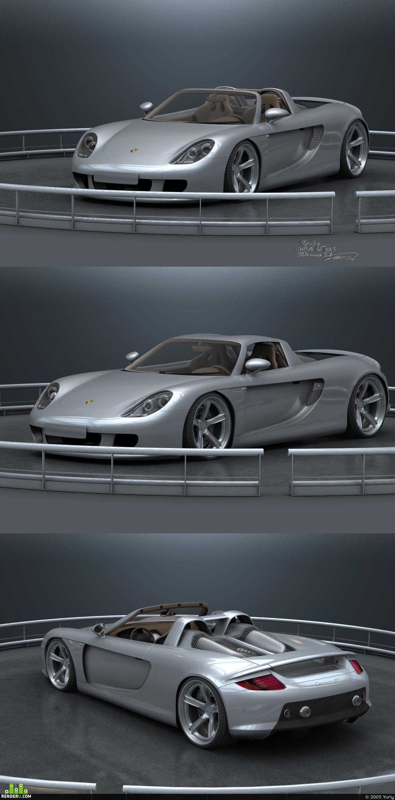 preview Porsche CarreraGT(2003)