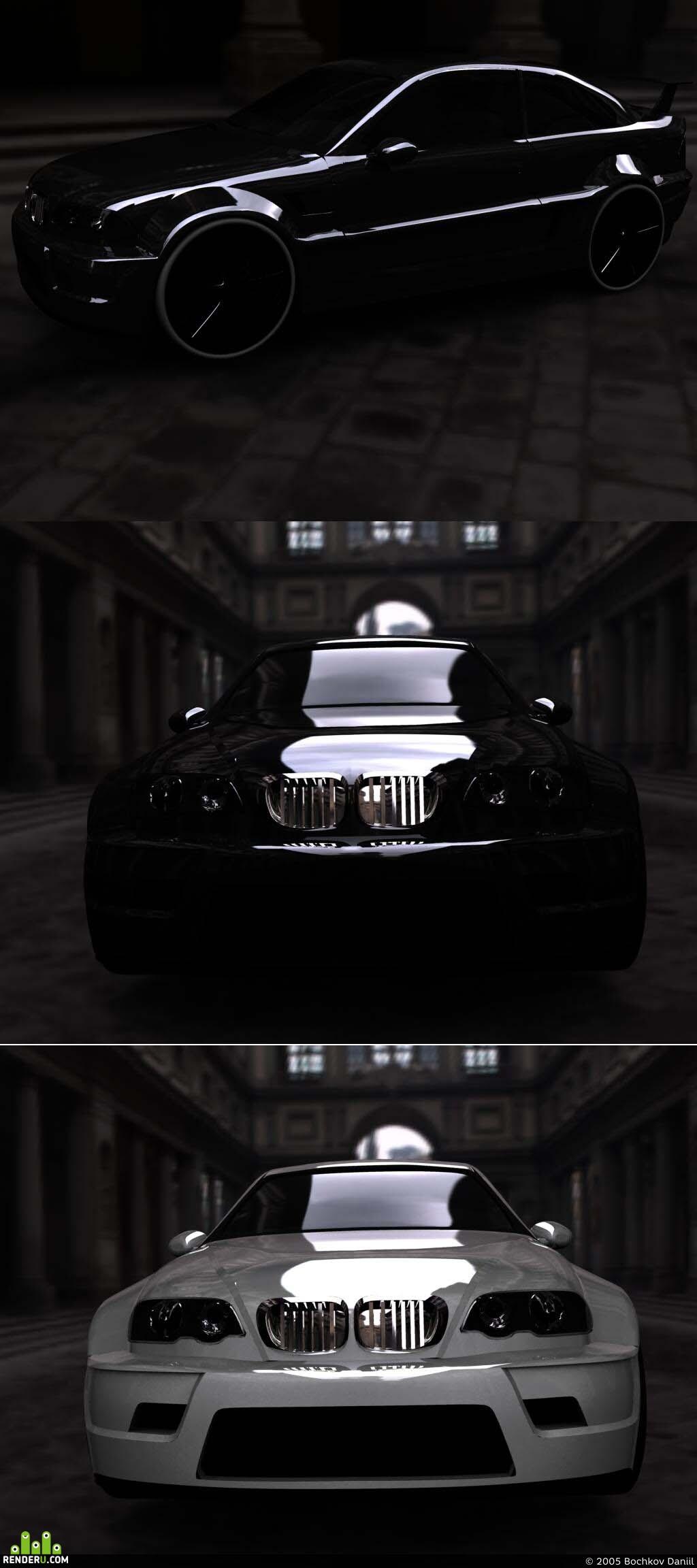 preview BMW M3 Csl+body kit