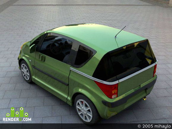 preview Peugeot 1007