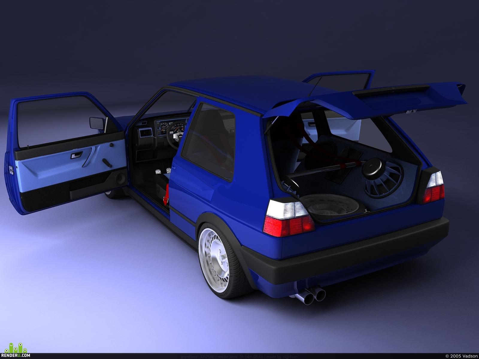 preview Volkswagen Golf Mk2