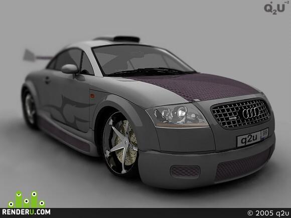 preview Audi TT q2u tuning