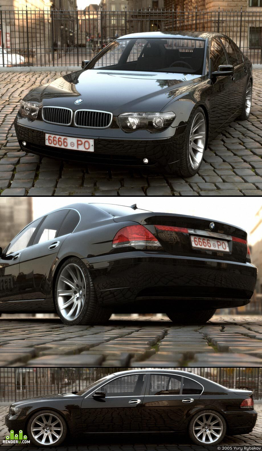 preview ¤ BMW 7 series (E65)