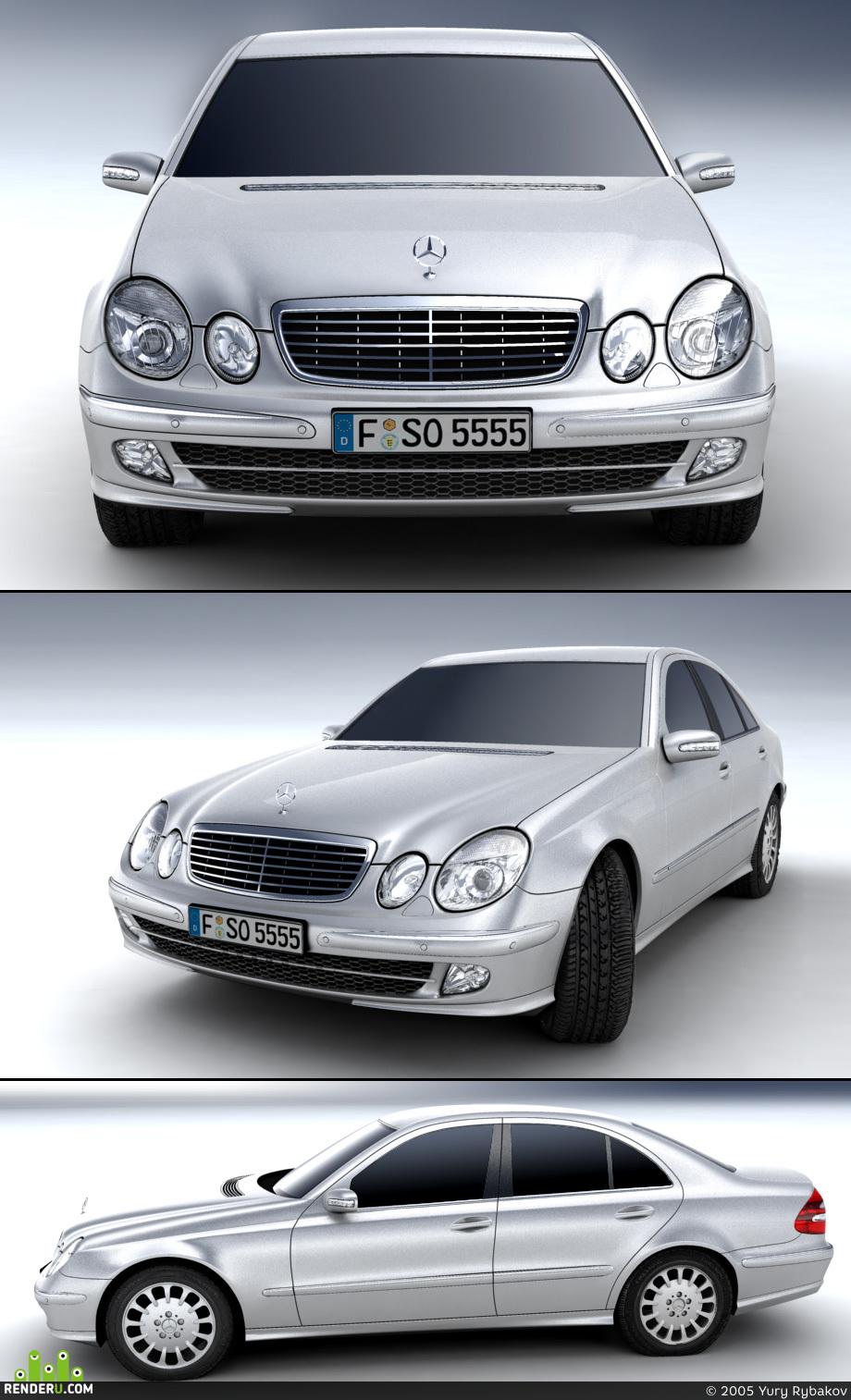 preview ¤ Mercedes E-class (W211)