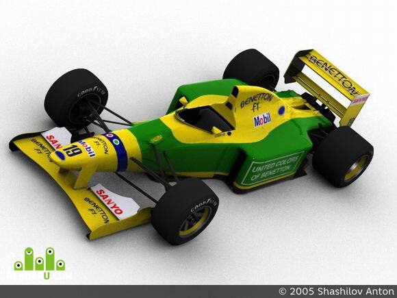 preview Benetton Ford B192