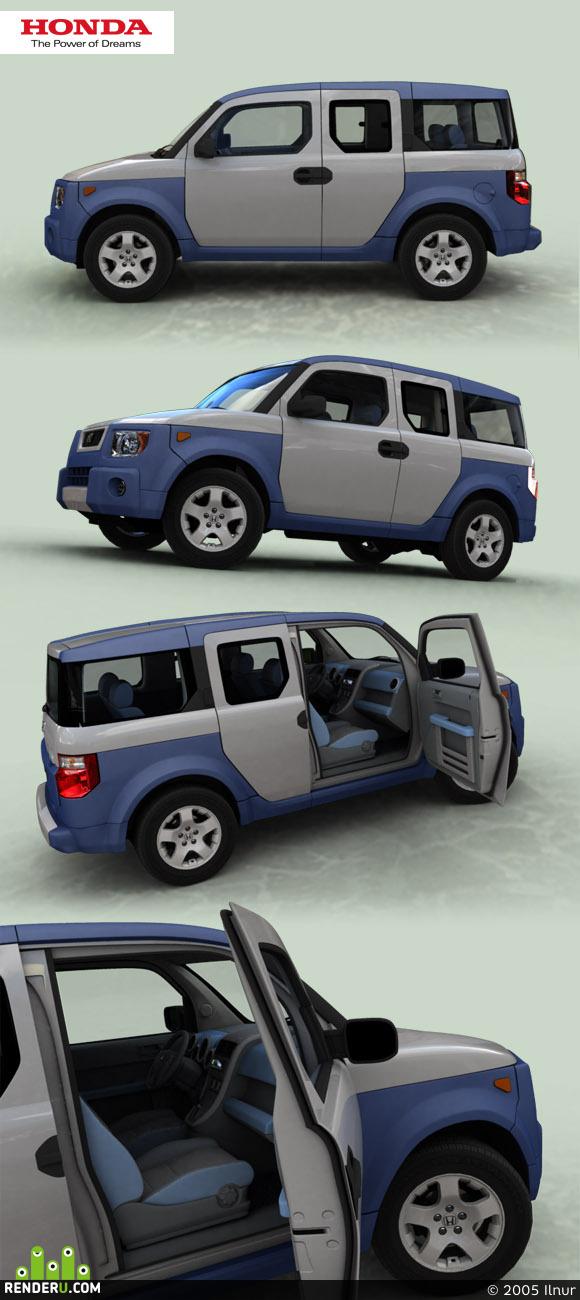preview Honda Element 2.4 i 16V 4WD EX