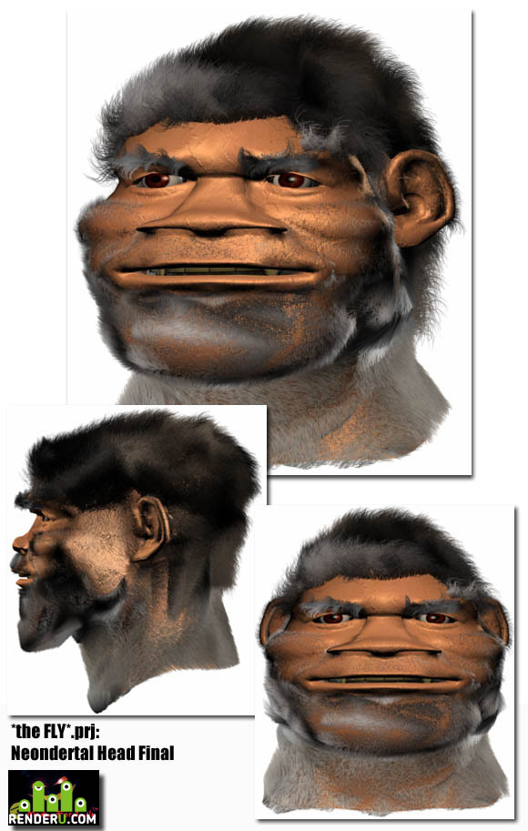 preview *the FLY*.prjproekt *MUHA* : Golova Neandertaltsa (fin.)