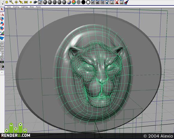 preview Golova lva