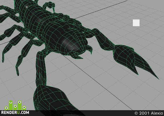 preview modelka skorpiona