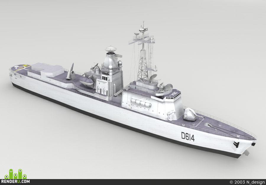 preview Fregat Cassard