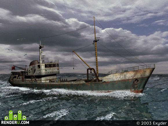 preview Trauler v Severnom more