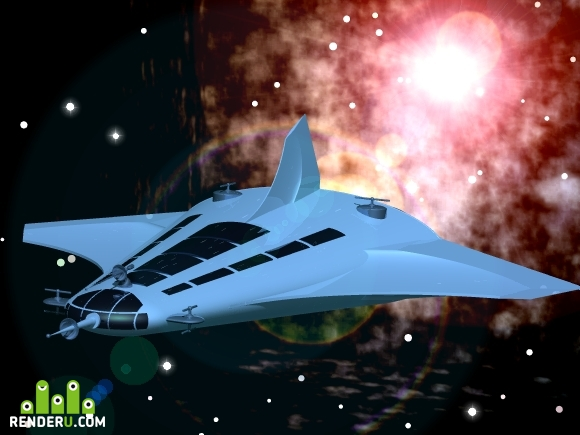 preview Milky Way Ship