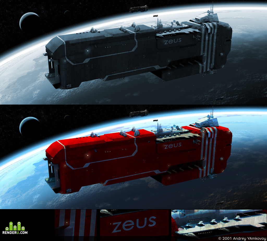 preview Battlecruiser: ZEUS
