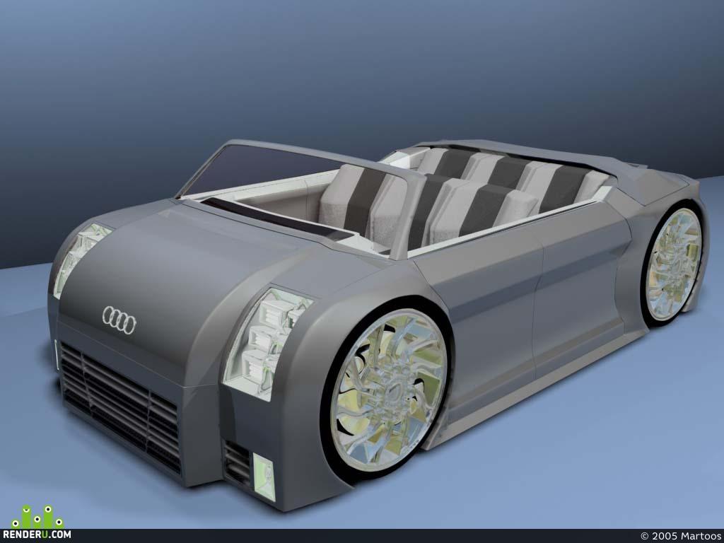 preview Audi TT Z-DR