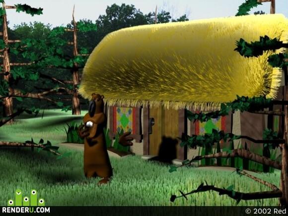 preview Domik v lesu