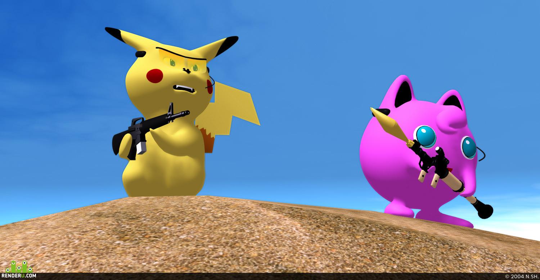 preview Voorujёnnyie pokemonyi.