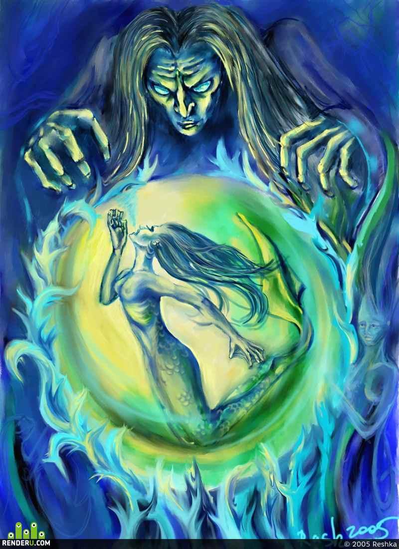 preview Sorcery ili karta dlya siney kolodyi