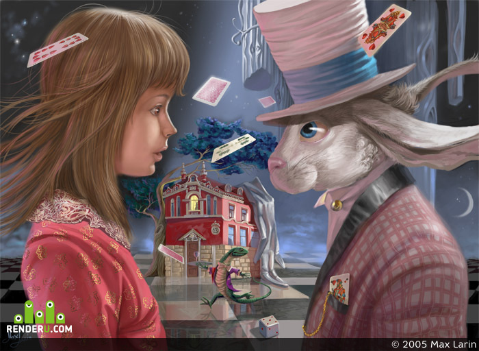 preview Alice& Rabbit