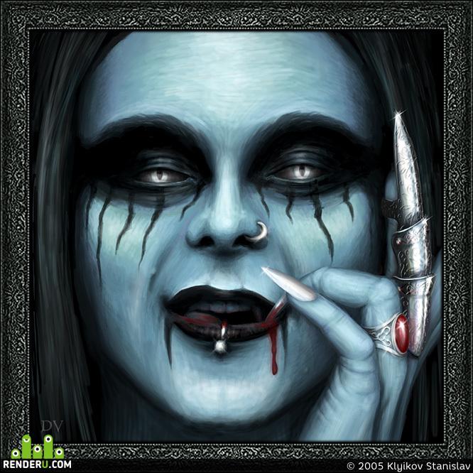 preview Portret Vampira