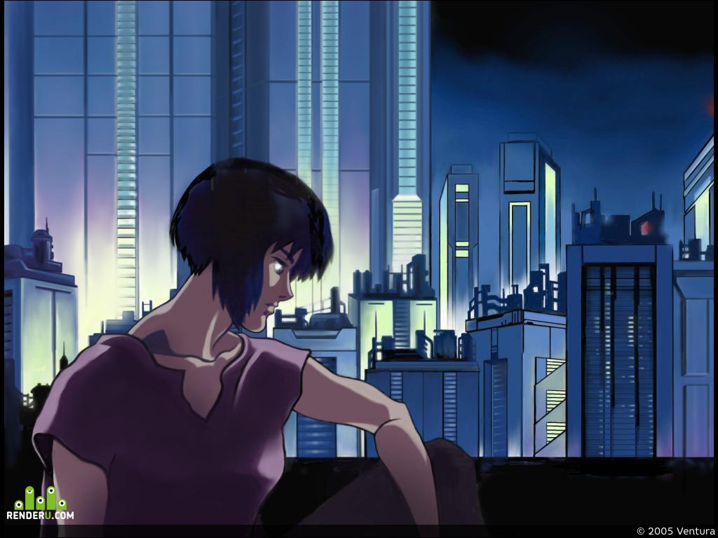 preview iz multfilma GHOST IN THE SHELL