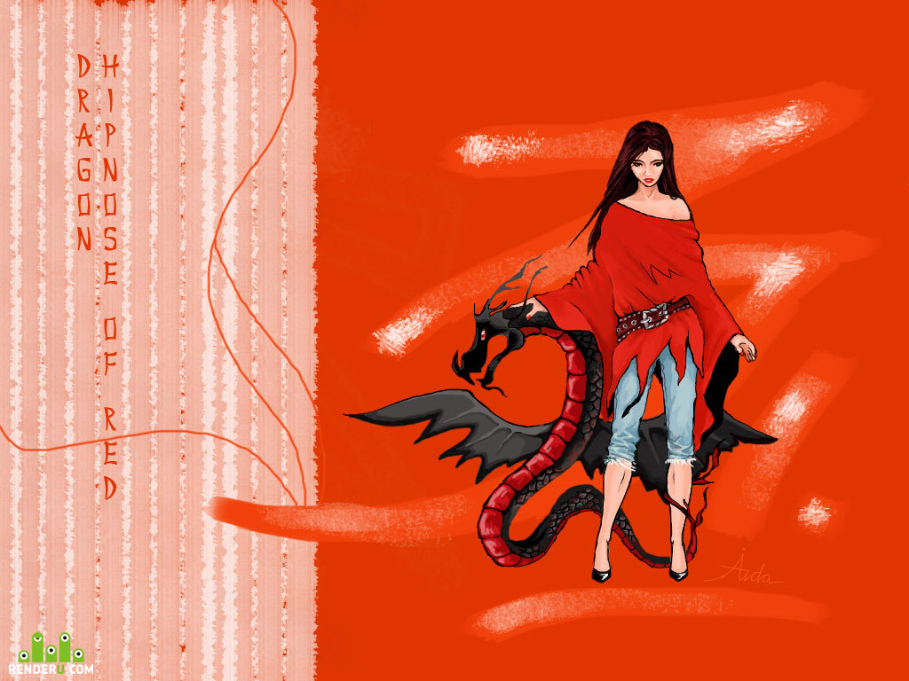 preview Dragon.Hypnose of red