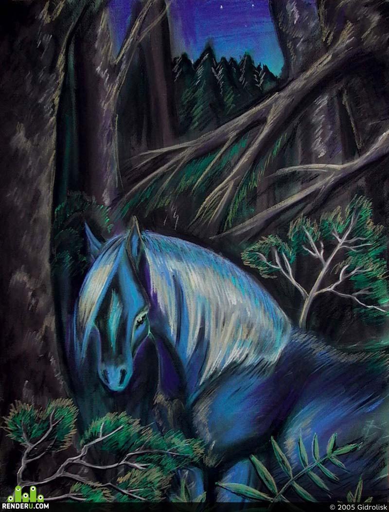 preview В лесу