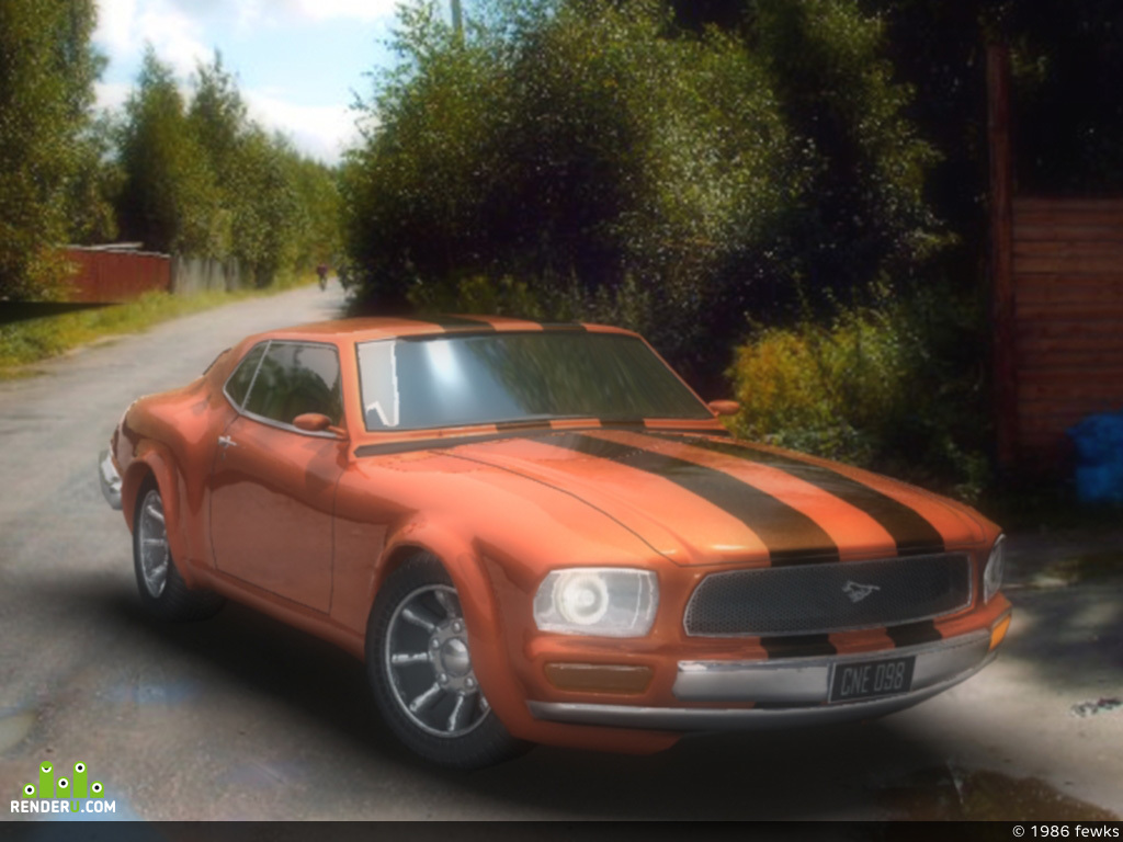 preview Mustang 1969
