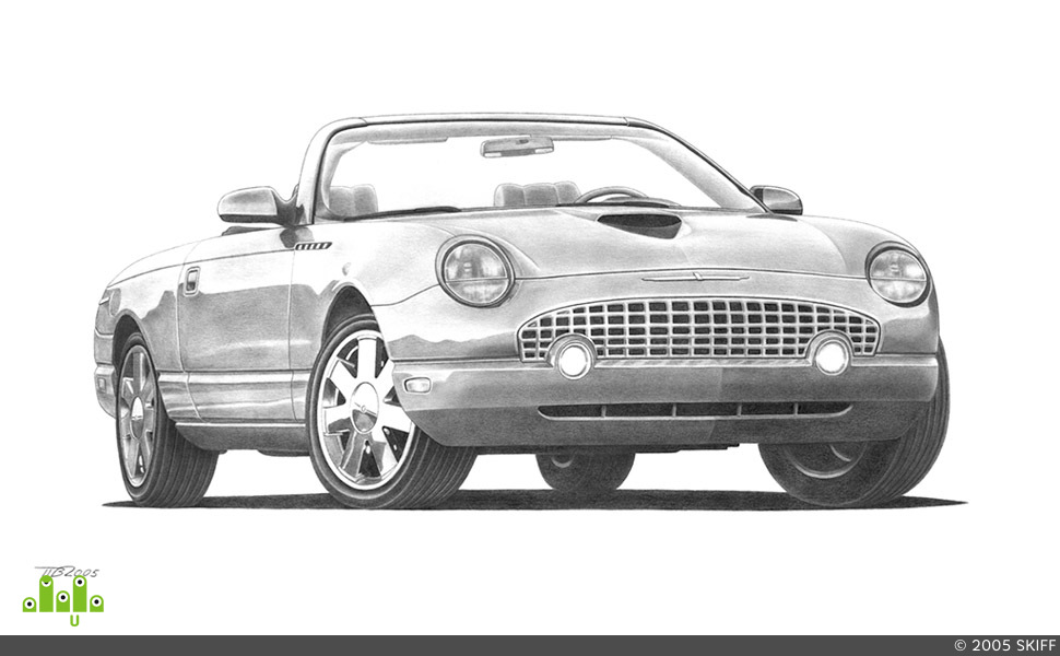 preview Ford Thunderbird
