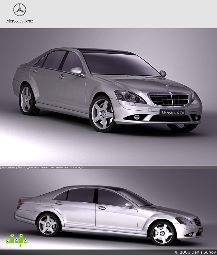 preview Mersedes S600