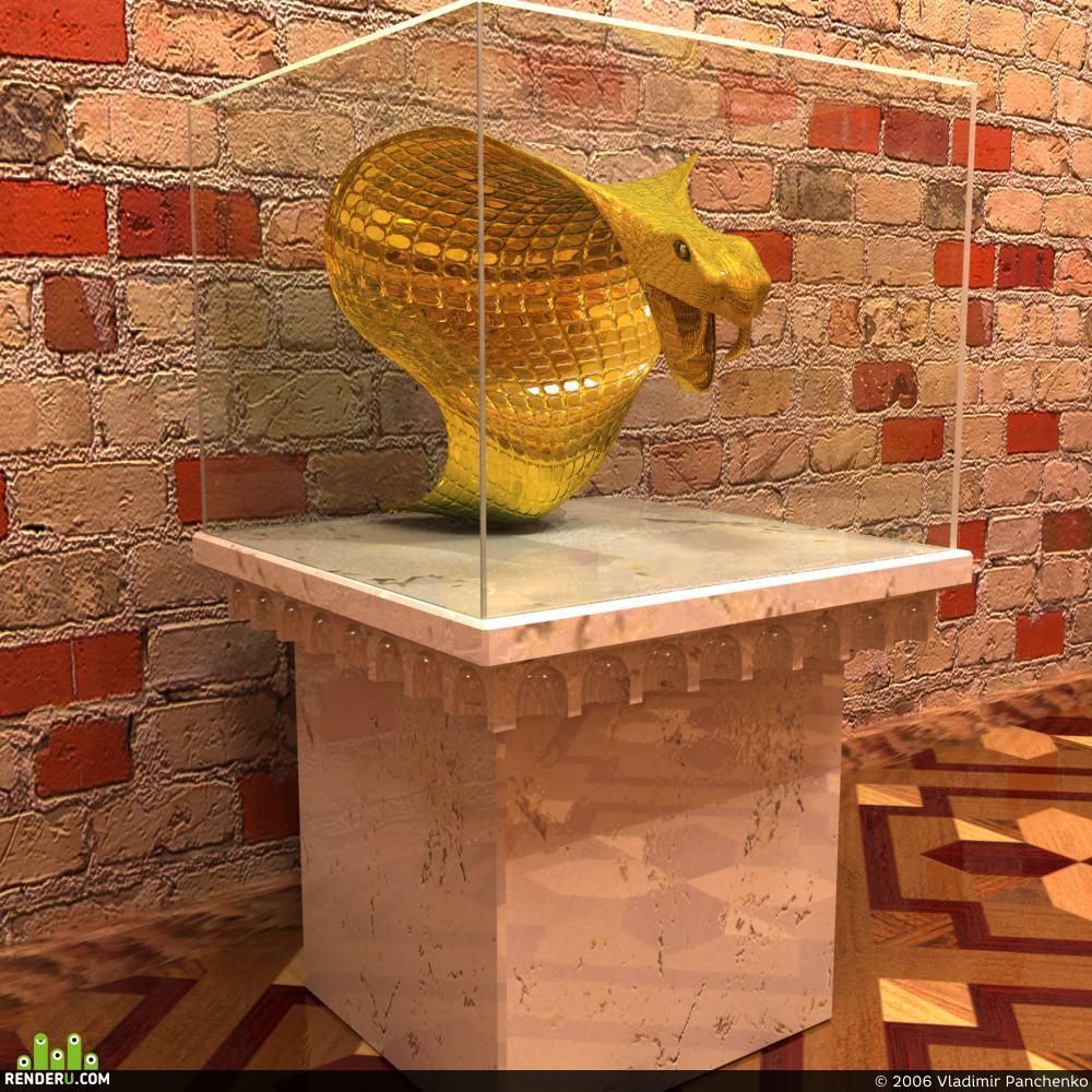 preview золотой змей