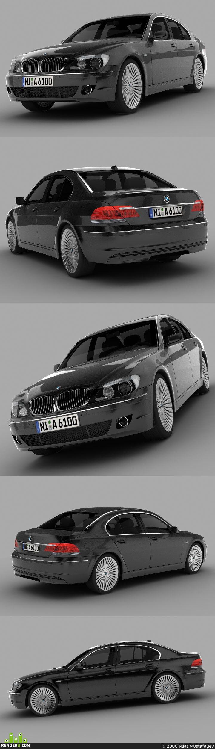 preview BMW 7 Series 2006 (E65)