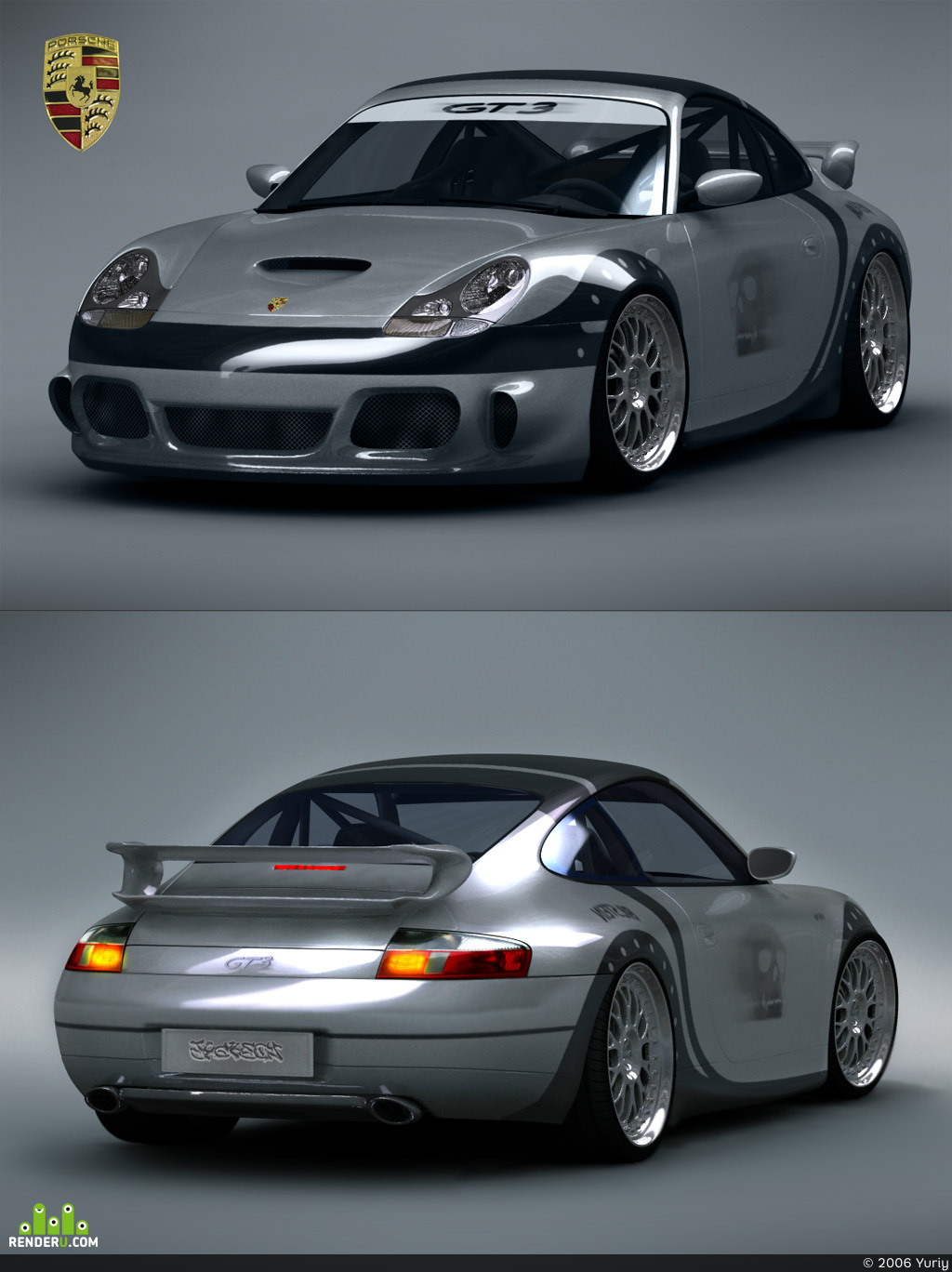 preview Porsche GT3 tunned