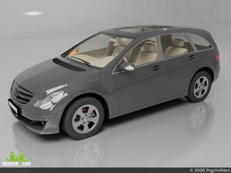 preview Mercedes R class SWB