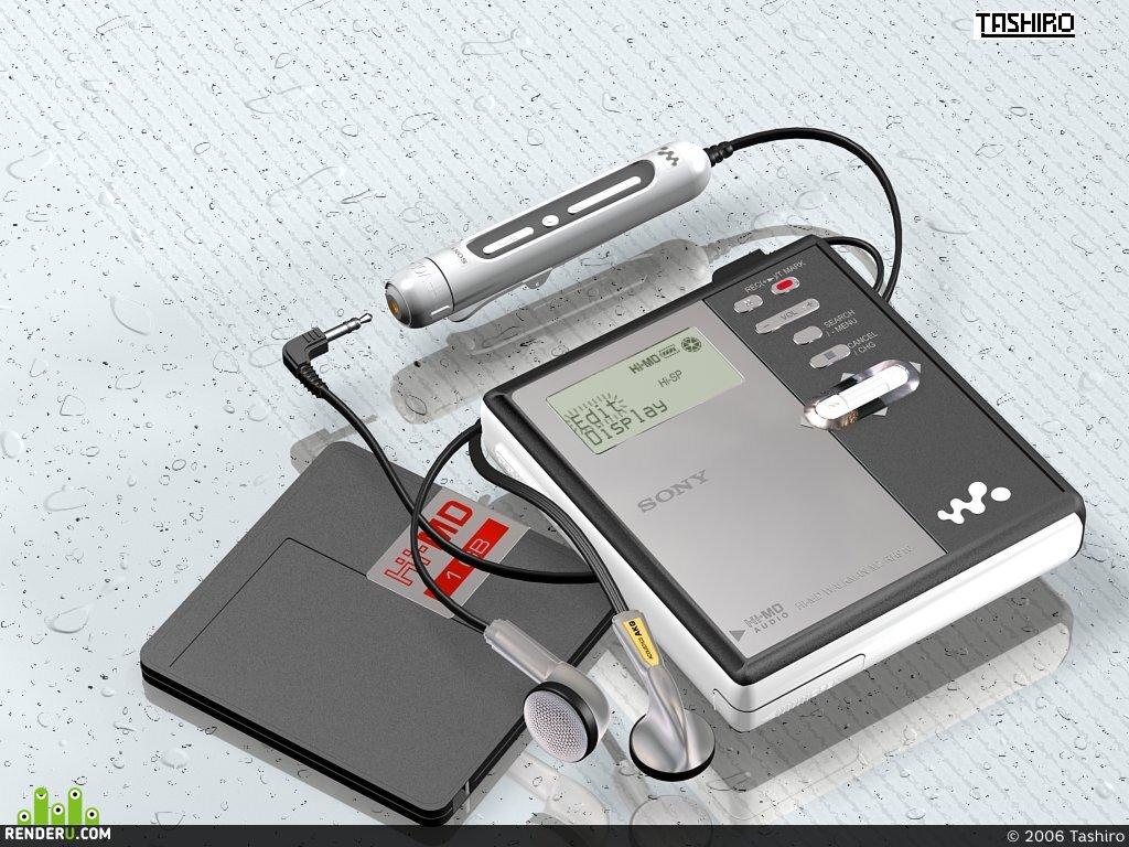 preview Sony MD RH-910