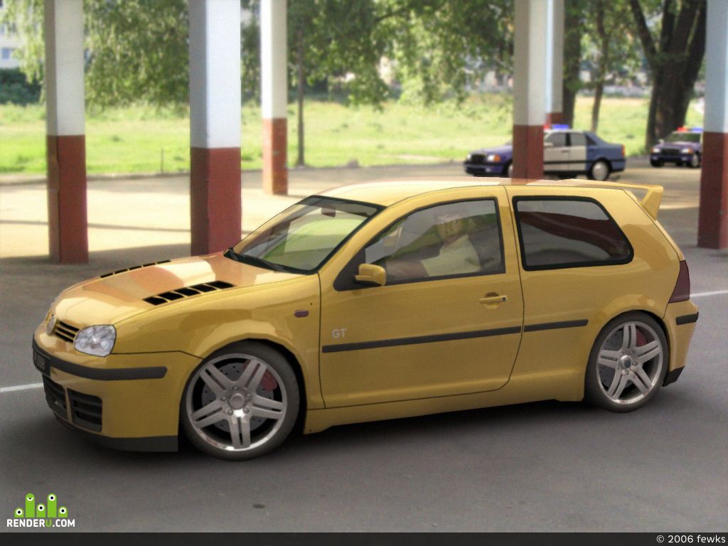 preview VW Golf III