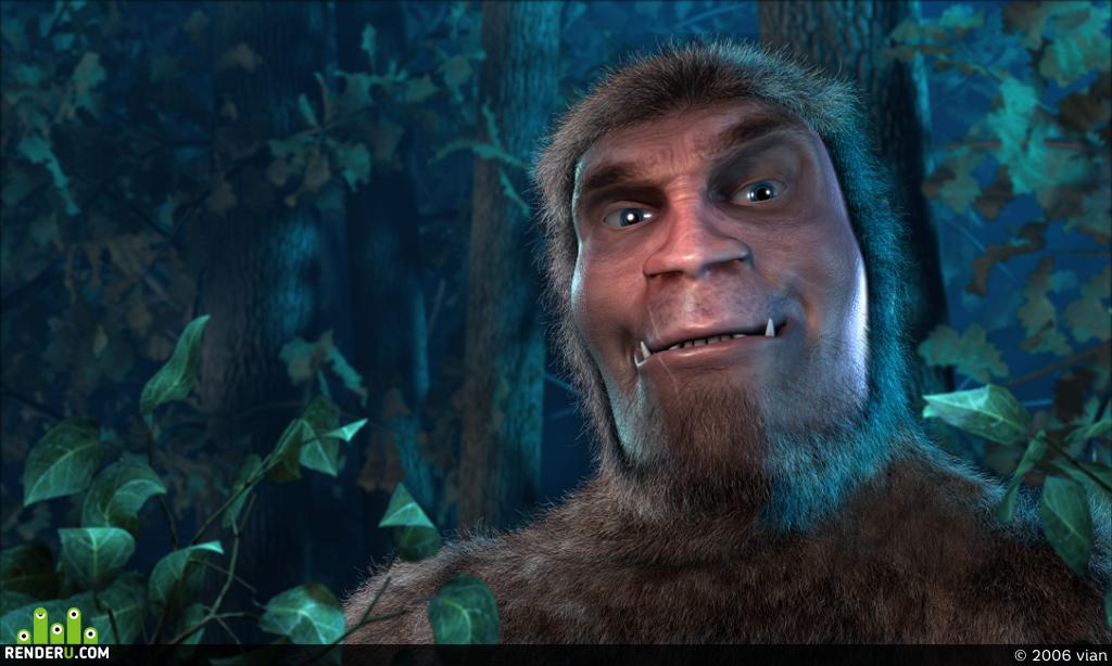 preview Лесной человек