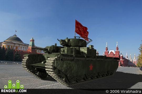 preview Т-35 Пятиглавый дракон РККА
