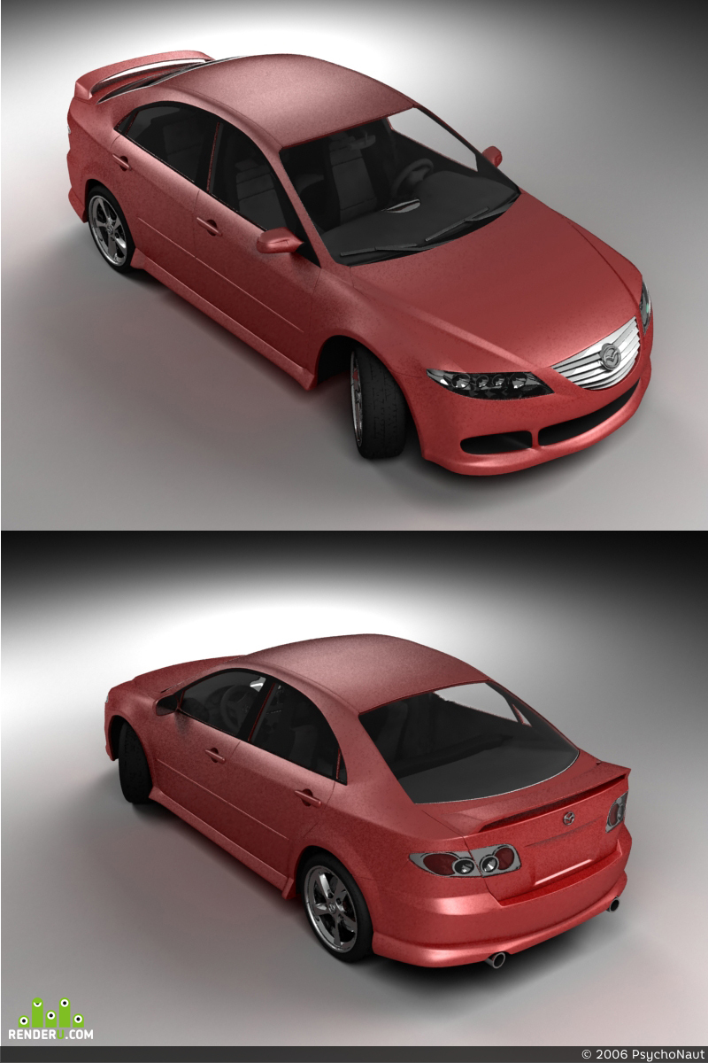 preview Mazda 6 sport (tuned)