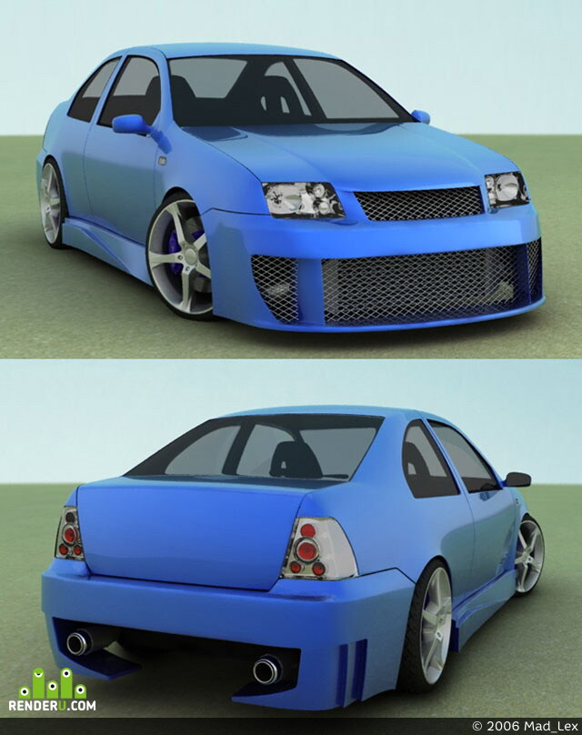 preview VW Bora Tuning