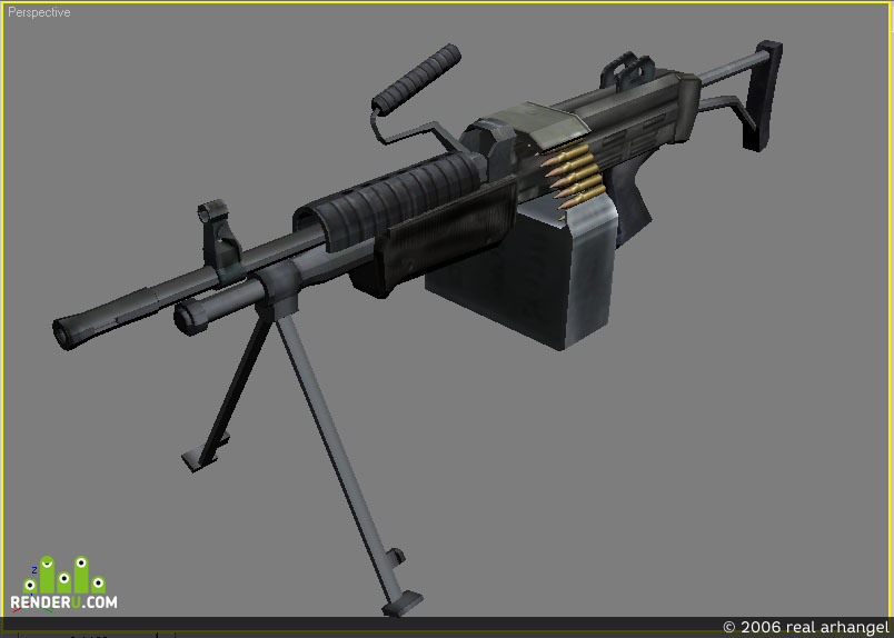 preview пулемет M249