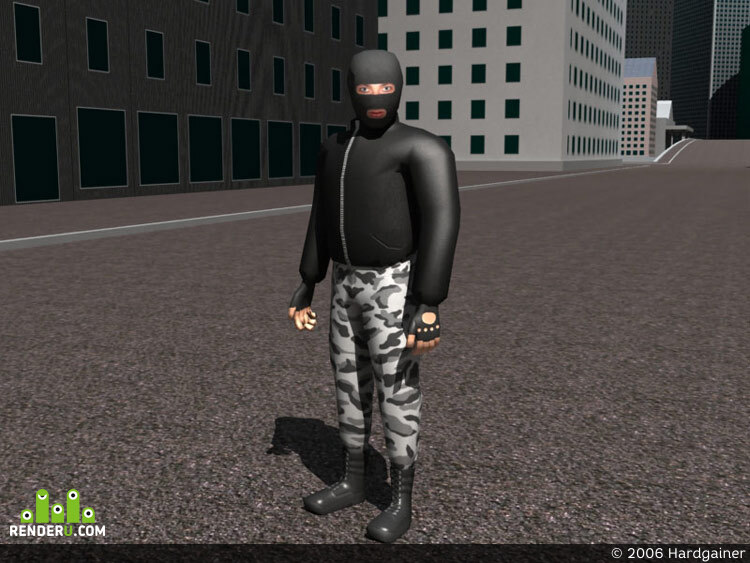 preview LowPoly-terrorist