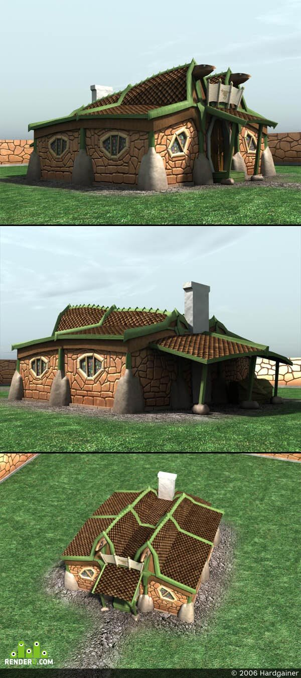preview LowPoly-House