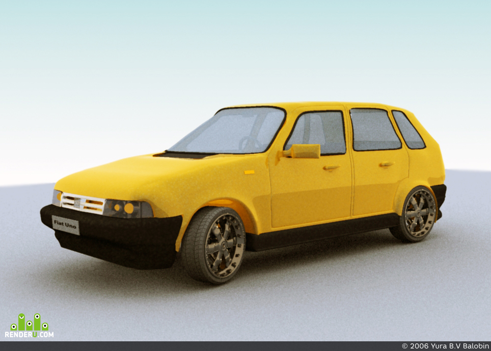 preview Fiat Uno