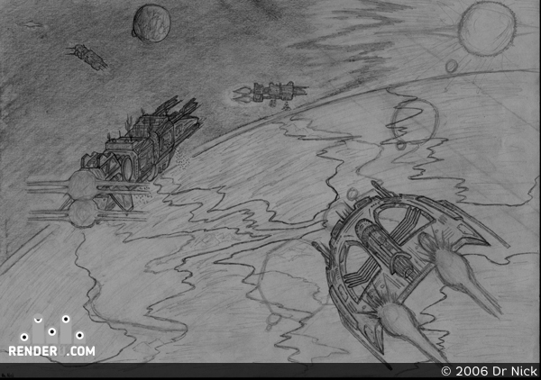 preview Landing on Meitnerium sketch
