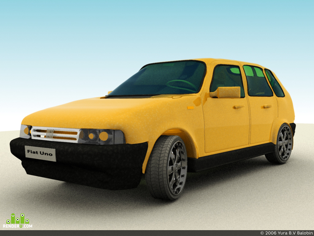 preview Fiat Uno _ NeW