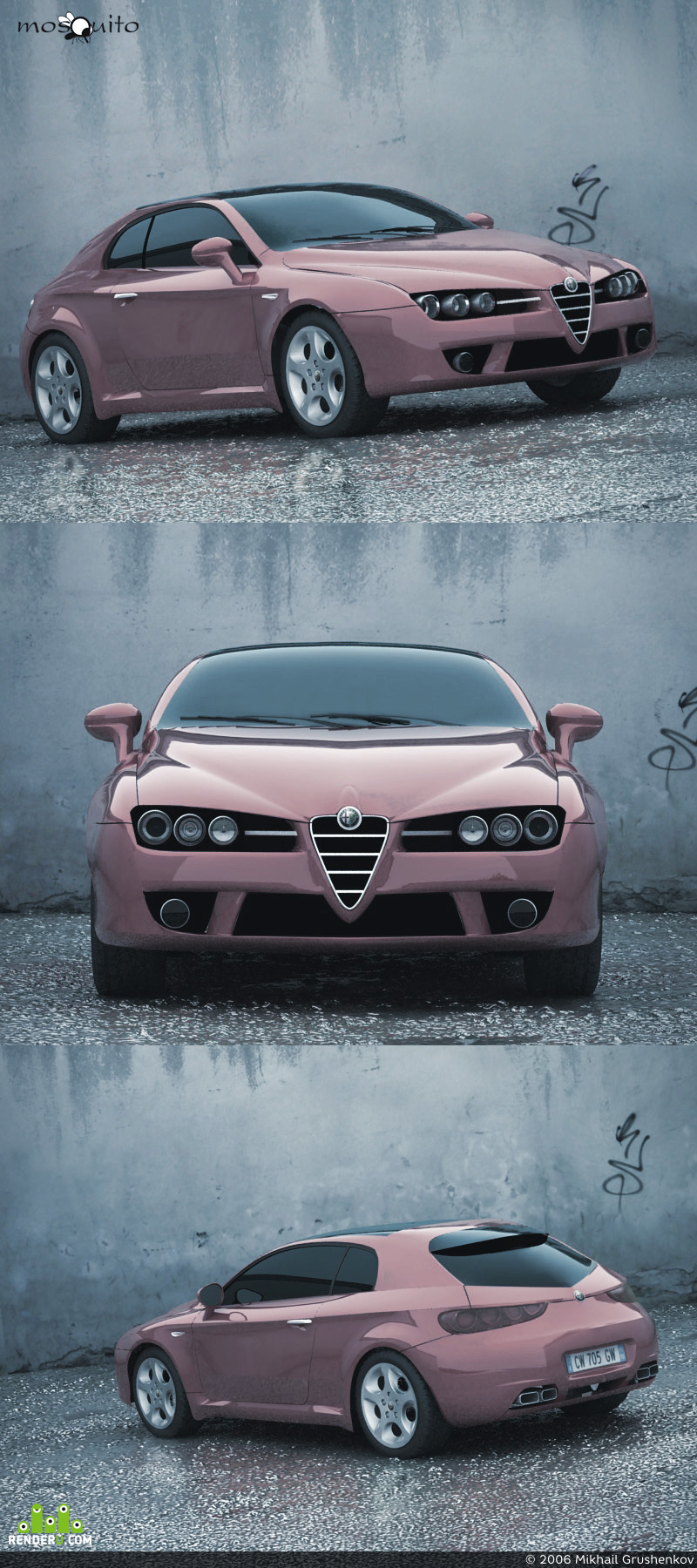 preview Alfa Romeo Brera