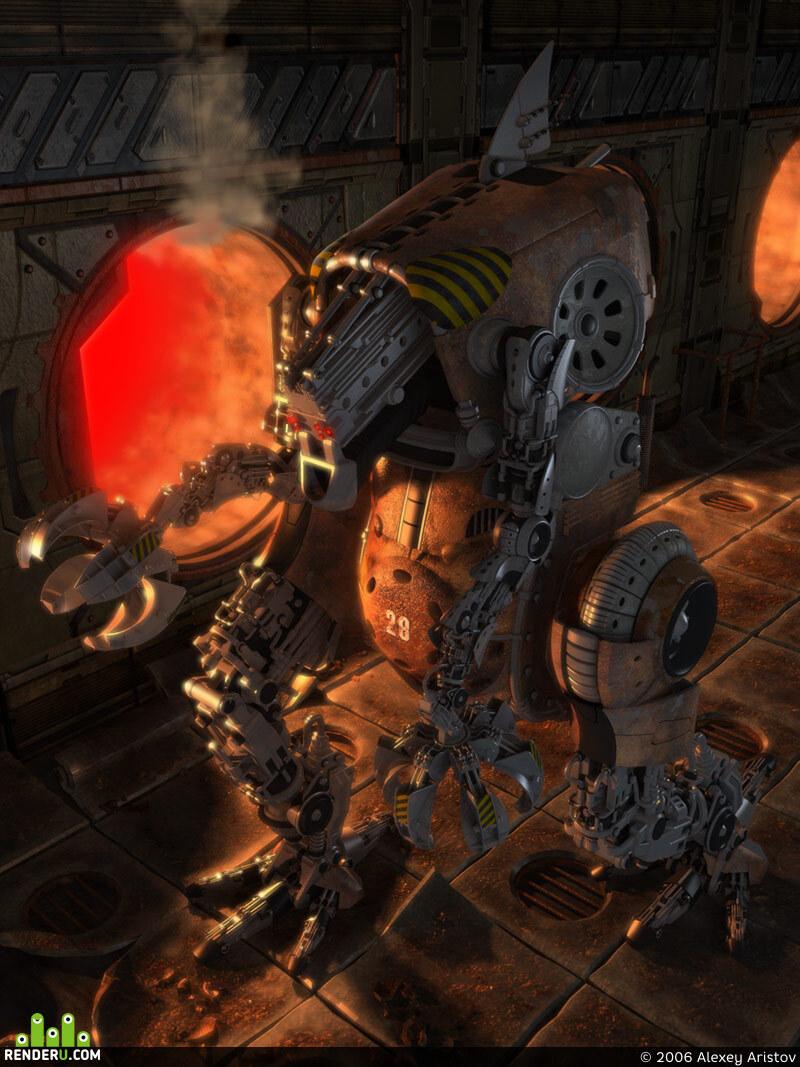 preview Robot Musorschik