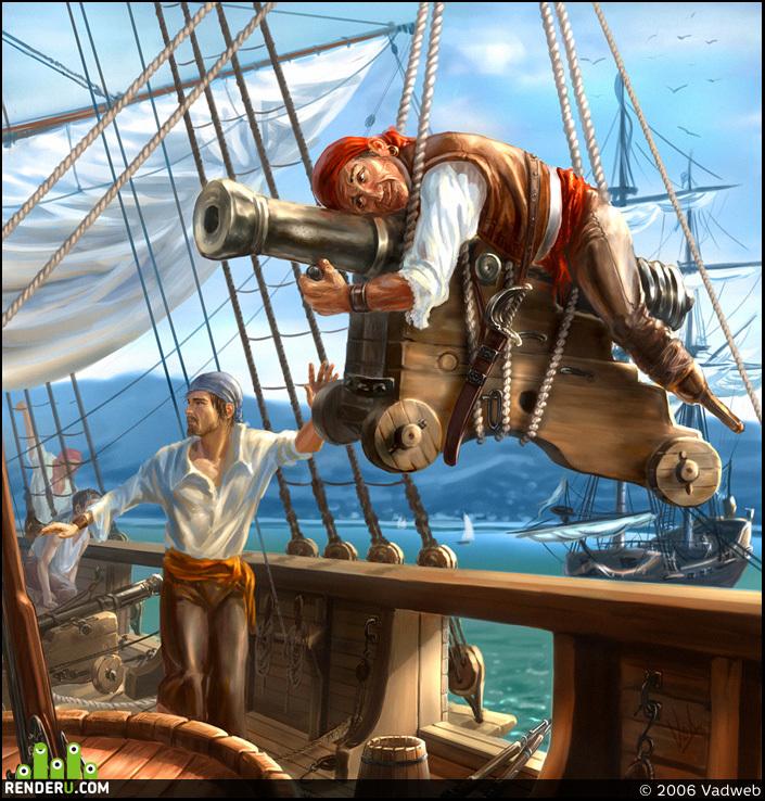 preview Пираты. Канонир.